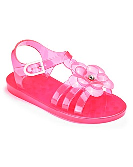 TKD Girls Jelly Flower Sandals