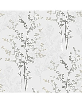 Arthouse Fern Motif Wallpaper