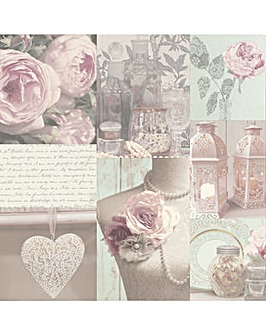 Arthouse Charlotte Blush Wallpaper
