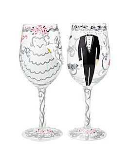 Lolita Happy Ever After Wine Glass Set