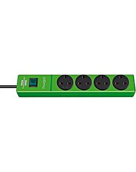 Brennenstuhl Multi Socket Hugo 4 Socket