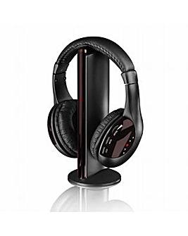 iTek Black 5 in 1 Wireless Headphones