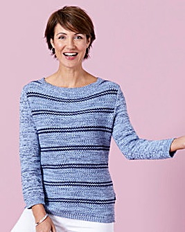 Cotton Stripe Jumper