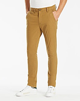 Jacamo Tobacco Stretch Skinny Chino 33in