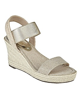 LOTUS ADITA WEDGE SANDALS