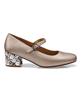Hotter Maria Buckle Shoe
