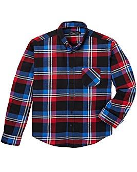 Label J Bright Flannel Check Shirt