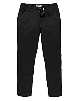 Capsule Black Basic Chino 35In