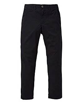 Capsule Black Basic Chino 33In