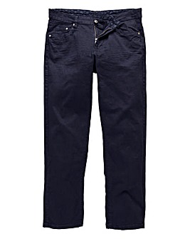 UNION BLUES Navy Gaberdine Jeans 33in