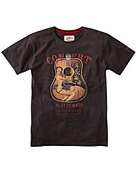 Joe Browns Pin-Up Acoustic T-Shirt Reg