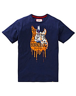 Joe Browns Drippy Guitar Music Tee Reg