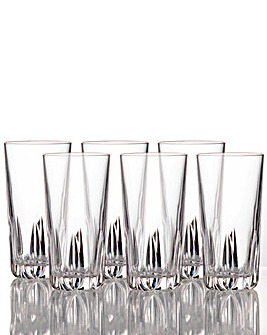 Royal Doulton Set Of 6 Crystal Glasses