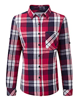 Tog24 Rowena Ladies Flannel Ls Shirt