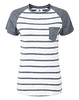 Tog24 Natty Stripe Womens T-Shirt