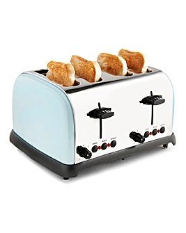 JDW 4 Slice Soft Blue Toaster