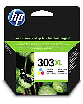 HP 303XL C/M/Y XL Ink Cartridge