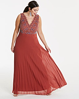 Lovedrobe Lace Bodice Maxi Dress