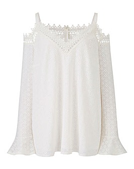 Lovedrobe Bardot Lace Top