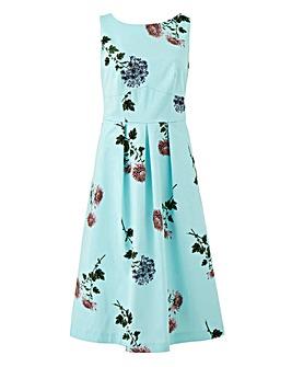 Oasis NHM Print Midi Dress