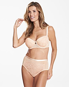Milly Lace Blush Balcony Bra