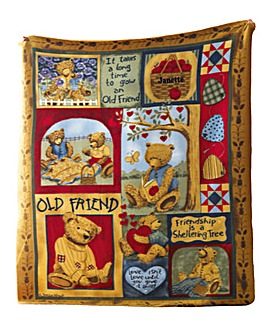 Friendship Blanket Personalised