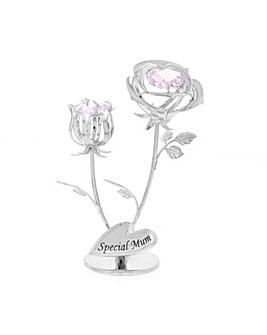 Crystocraft Special Mum Rose & Rose Bud