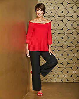Nightingales Pleated Blouse