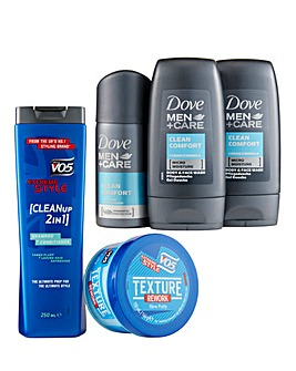 Dove Men Set & VO5 Extreme Style Set