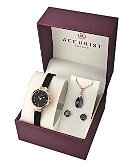 Accurist Ladies Watch & Jewellery Set