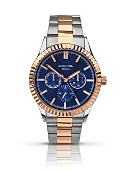 Sekonda Gents Two Tone Sports Watch