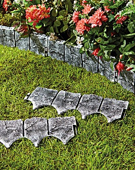 Stone Effect Edging Pack of 10