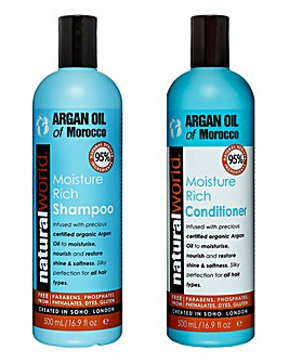 Argan Oil Shampoo & Conditioner Set