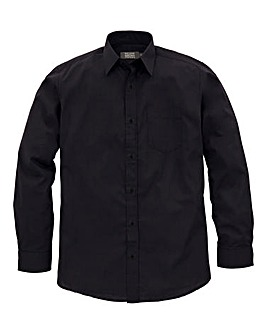 W&B London Black L/S Formal Shirt L