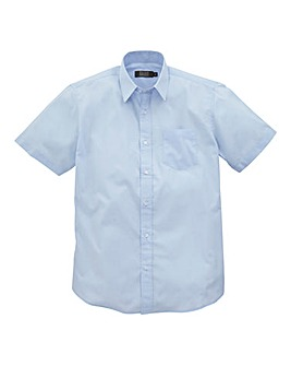 W&B London Blue S/S Formal Shirt L