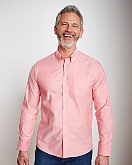 Capsule L/S Pink Oxford Shirt Regular