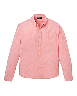 Capsule L/S Pink Oxford Shirt Long