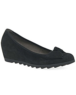 Gabor Gable Womens Wedge Heel Shoes