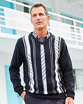 Premier Man Jacquard Sweater