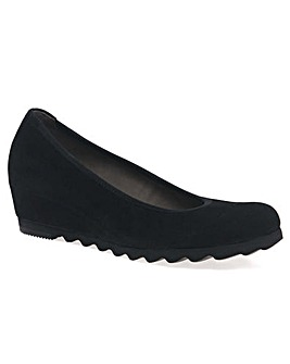 Gabor Request Womens Wedge Court Shoes