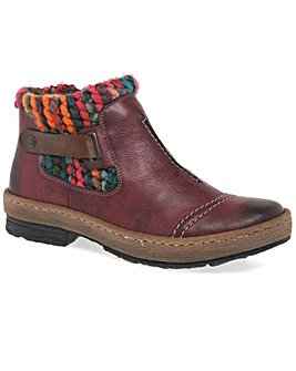Rieker Rambler Womens Ankle Boots
