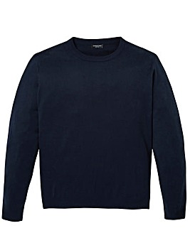 Capsule Navy Crew Neck Jumper R