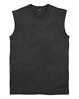 Capsule Charcoal V-Neck Slipover R
