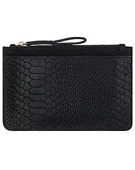 Accessorize Lucy Croc Leather Purse