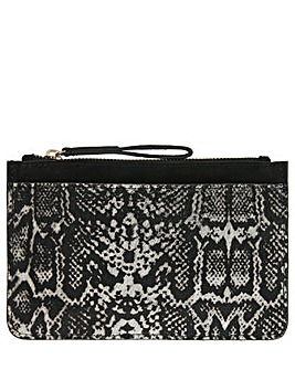 Accessorize Lucy Snake Leather Purse