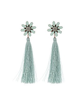 Accessorize Statement Flower Earrings