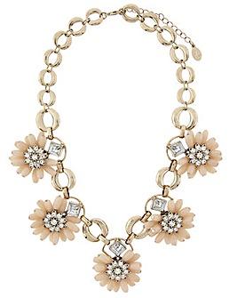 Accessorize 3D Flower Necklace