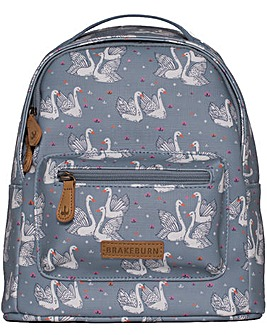 Brakeburn Swans Mini Backpack