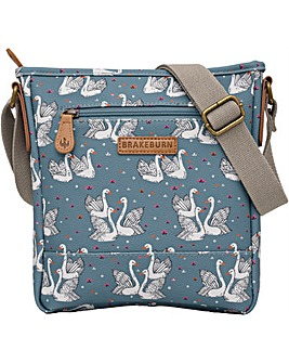 Brakeburn Swans Cross Body Bag