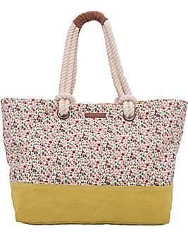 Brakeburn Ditsy Print Beach Bag